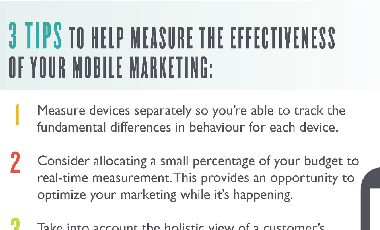 3 Tips tp help measure mobile effectiveness
