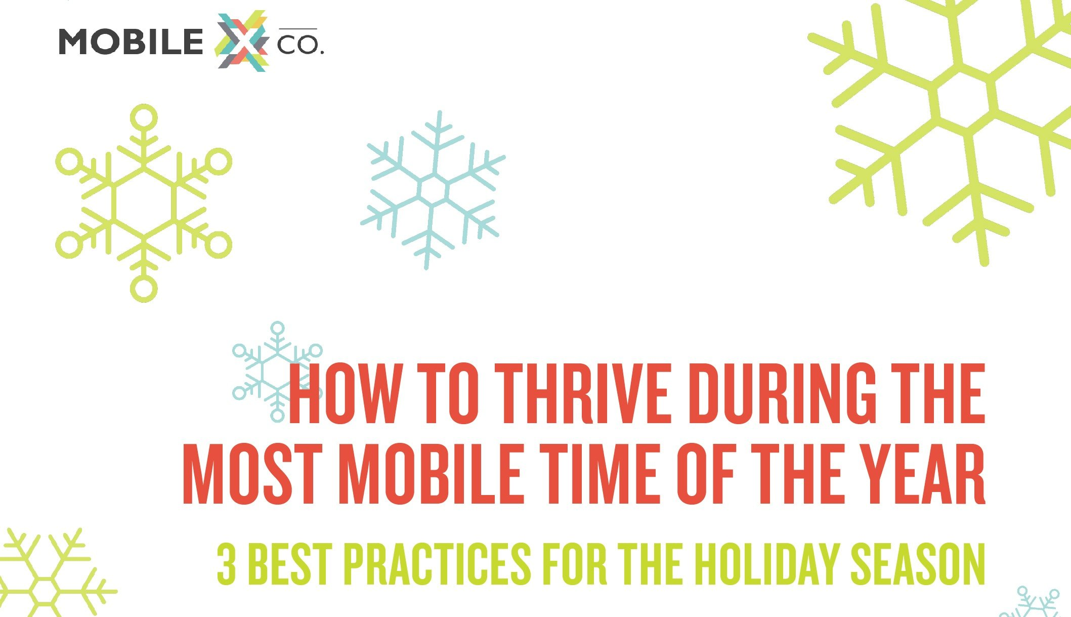 Holiday eBook - Thrive With Mobile