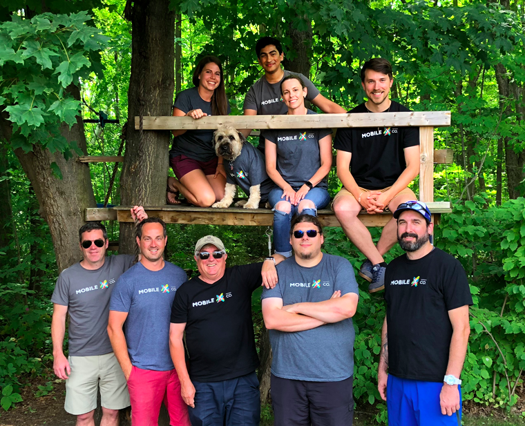 MobileXCo Team Photo - Christmas in July Year end Party - Jul 20, 2018