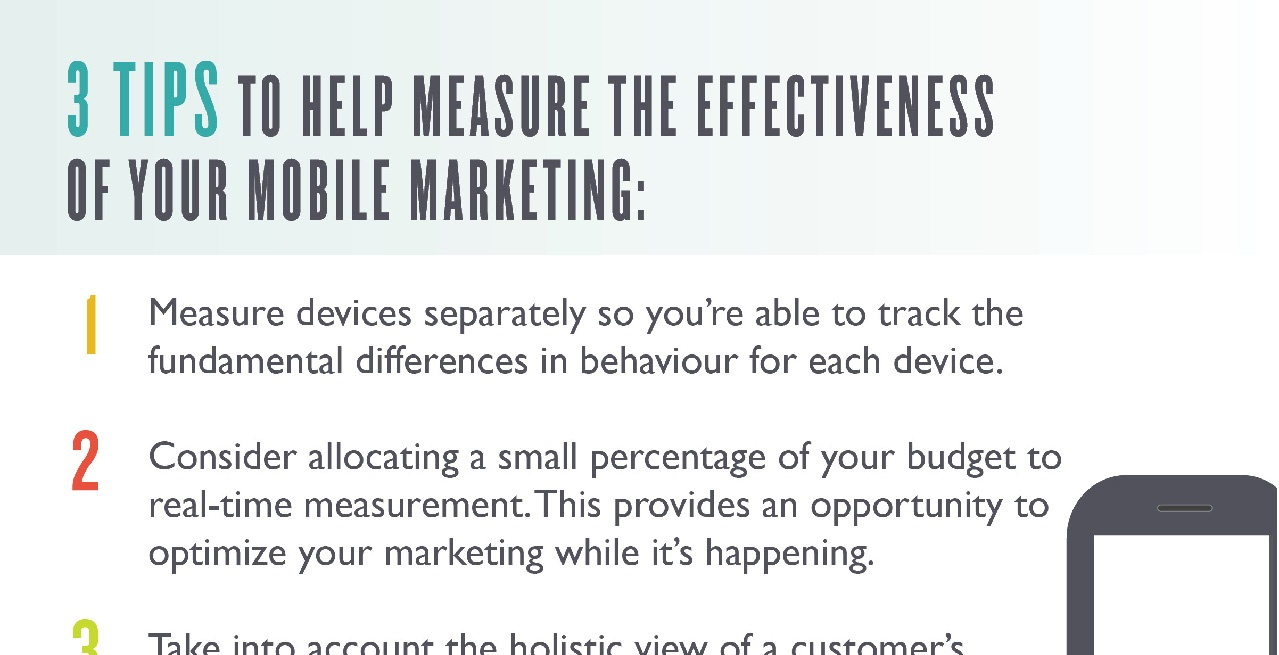 Measure the Effectiveness of Your Mobile Marketing