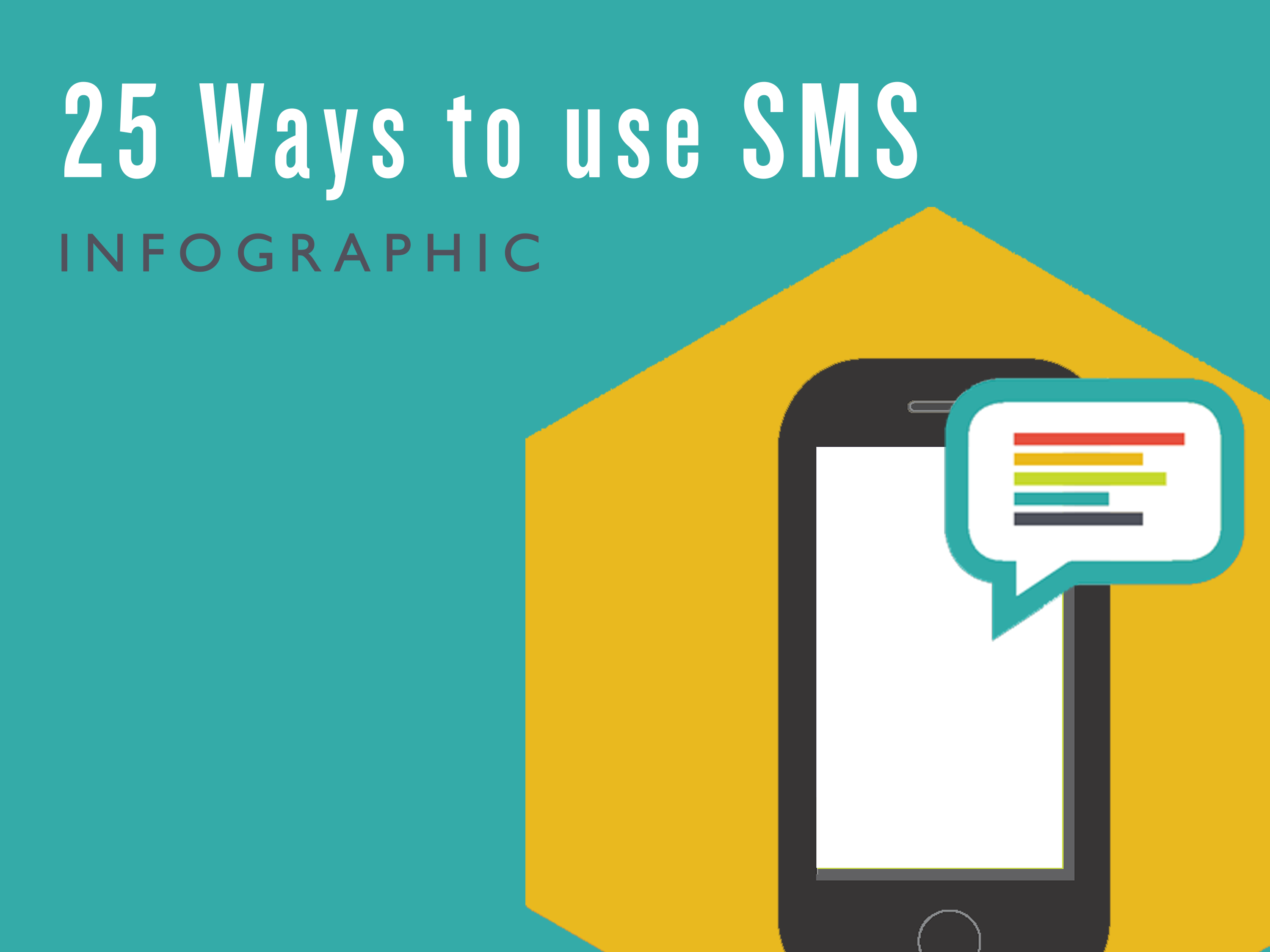 25 Ways to use SMS - Info Sheet - Cover