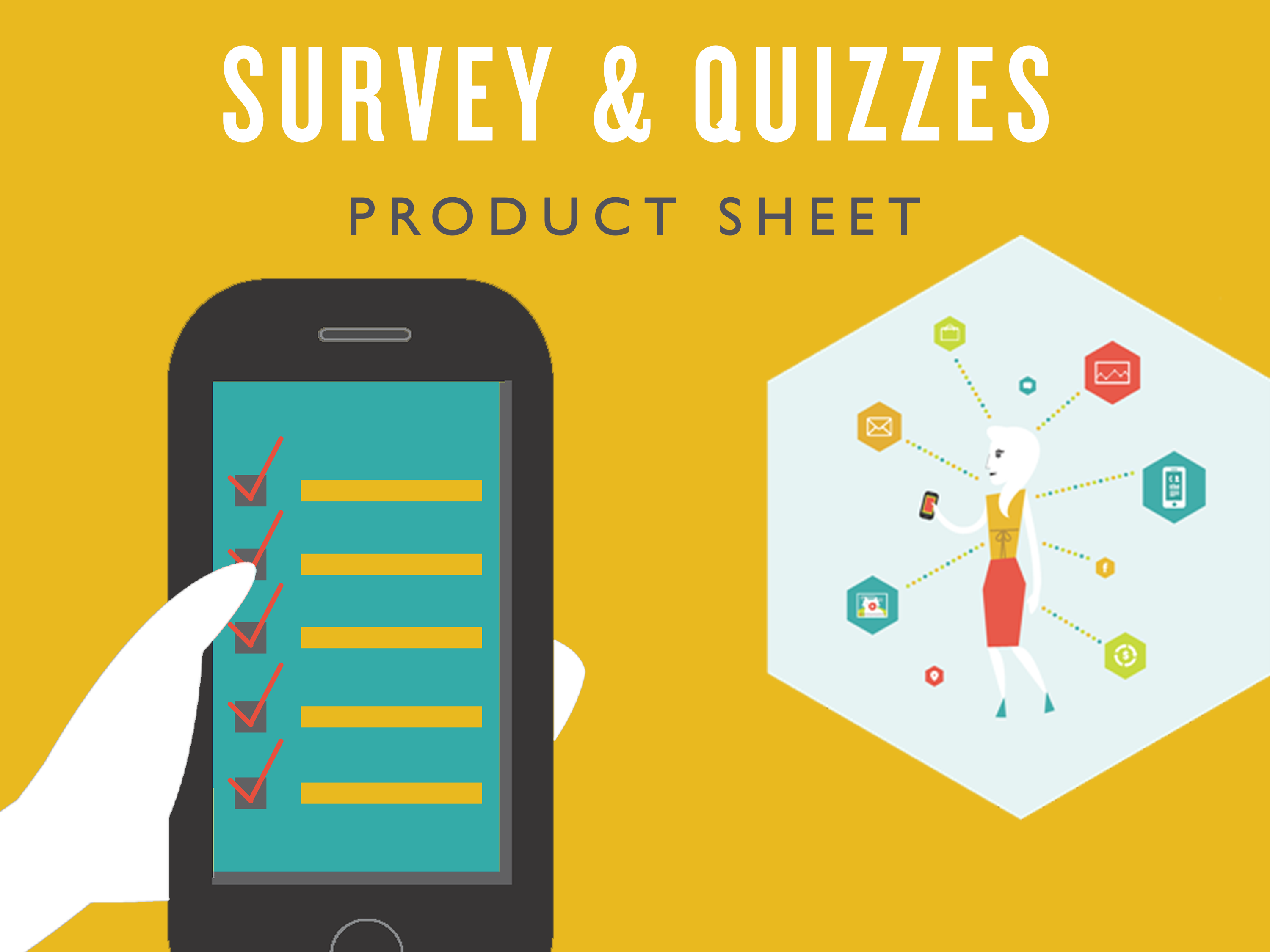 Survey & Quizz - Product Sheet - Cover